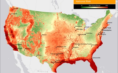 How Does Your State Rank in Natural Disaster Risk?